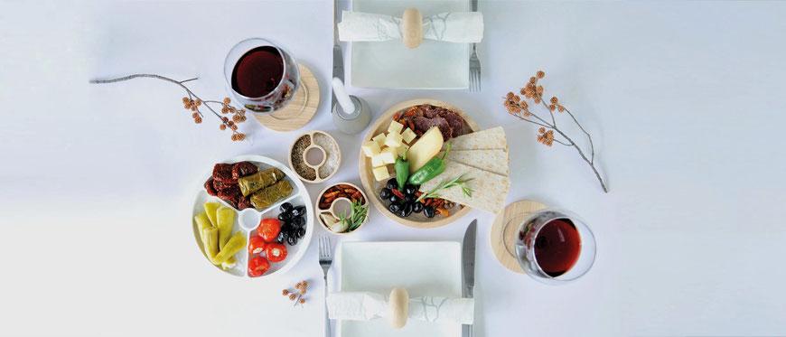 #ELLA. #Tischdecken #Tischaccessoires #wohnen #Tisch #vonHollstein
