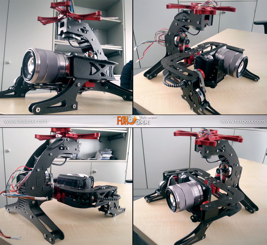 360° Brushless Kamera Gimbal