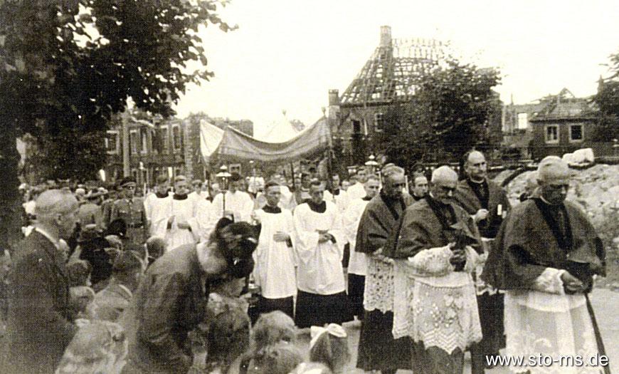 Prozession um 1946