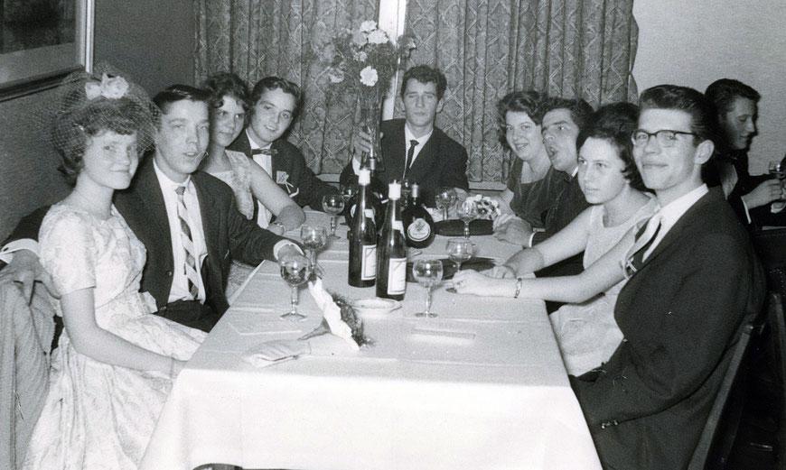 Schlussball am 3.12.1960 im Kiepenkerl