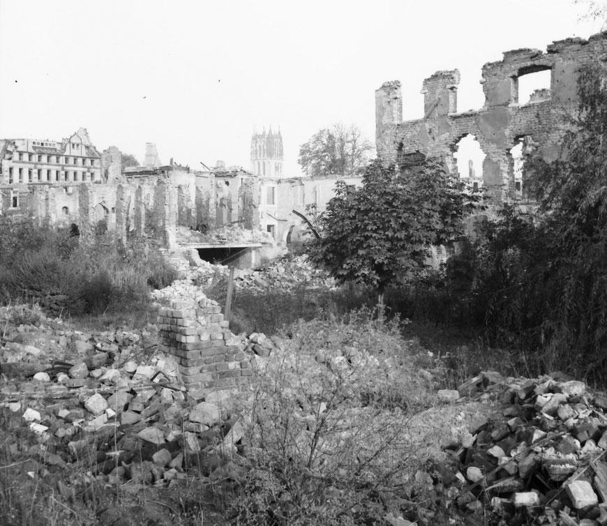 Herbst 1946 Georgskommende - Foto Carl Pohlschmidt - ULB