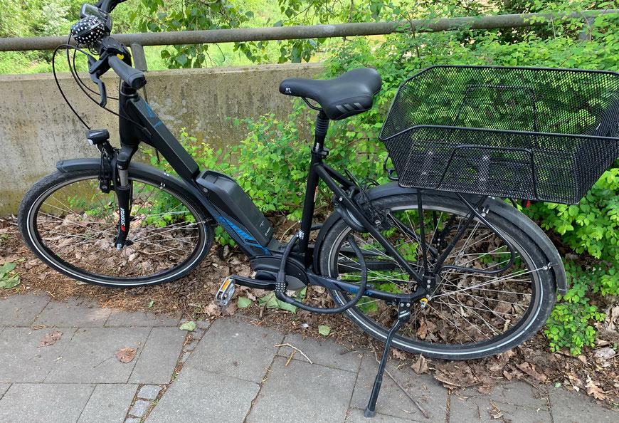 Mein ehemaliges Fahrrad