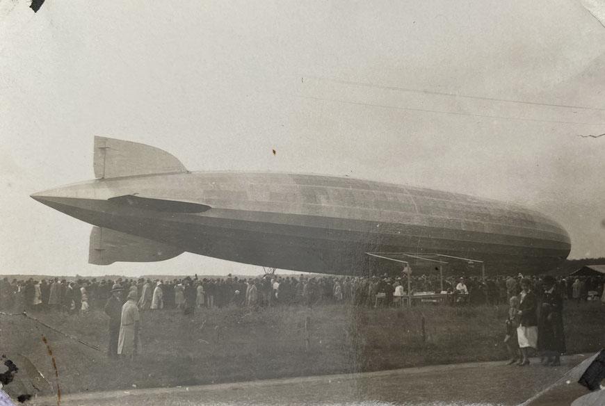 Der Zeppelin ist gelandet - Loddenheide 1930