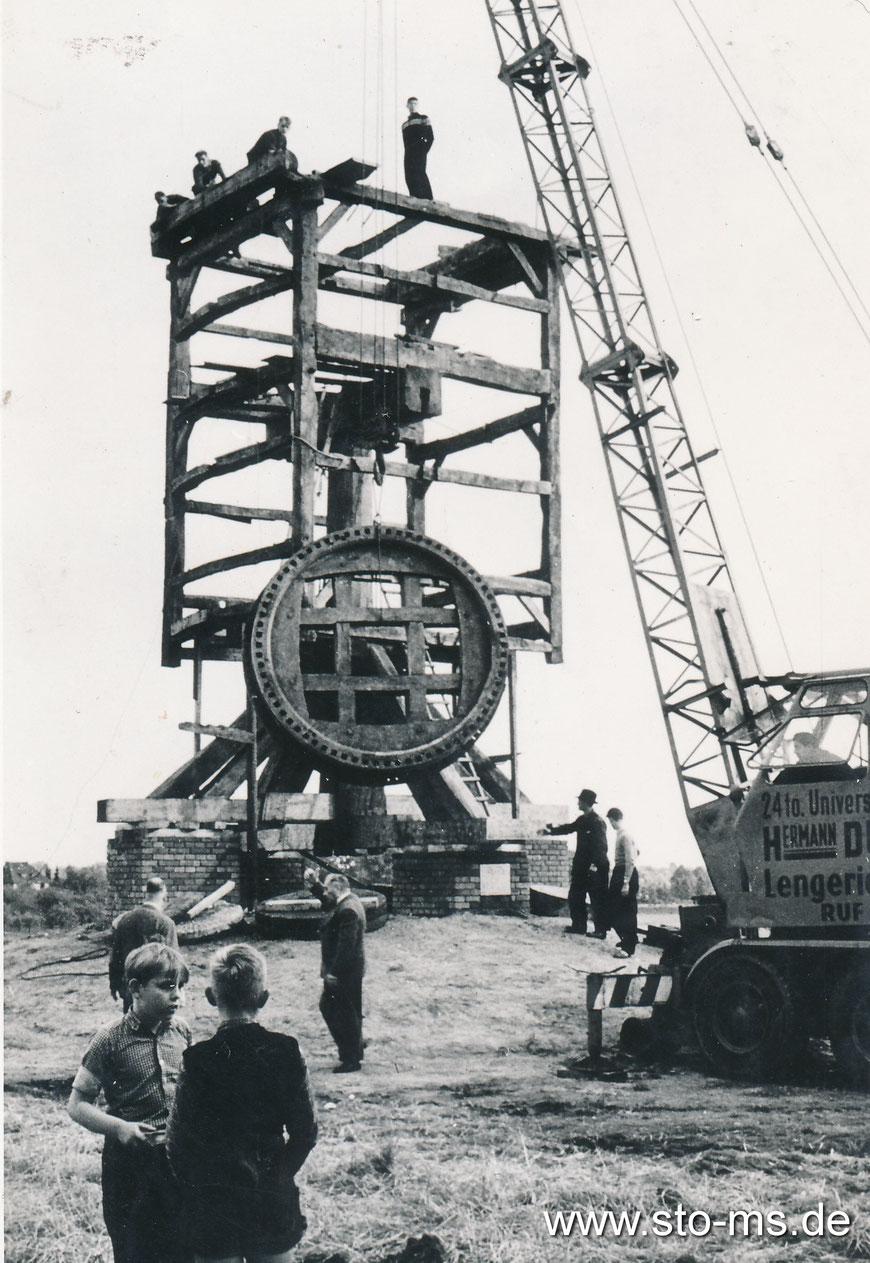 Der Aufbau der Mühle