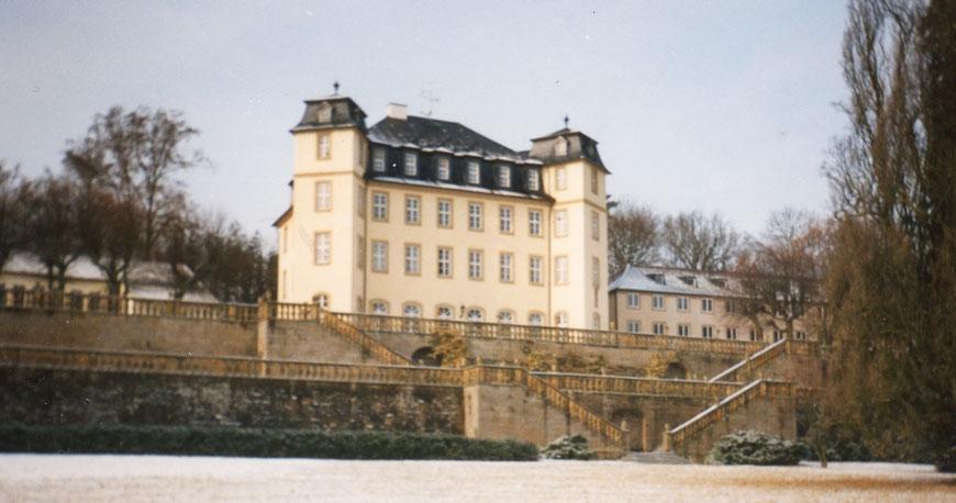 Schloss Untermerzbach bei Bamberg - Noviziat und philosophische Hochschule der Pallottiner bis 2009