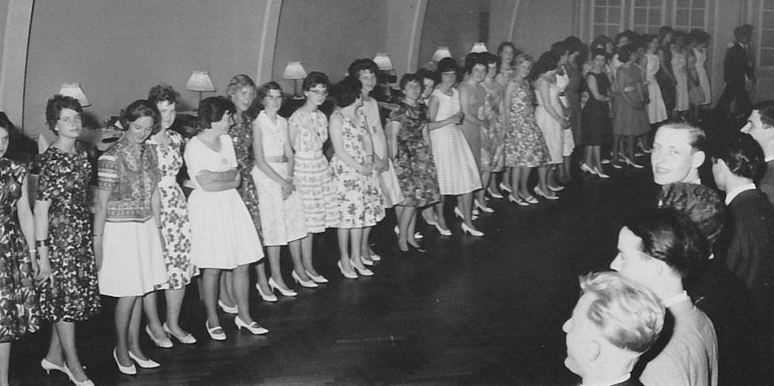 Aufforderung zum Tanz - Damenwahl bei der Tanzschule Estinghausen