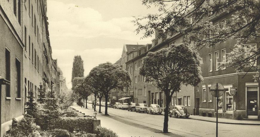 Kanalstraße 1960er Jahre