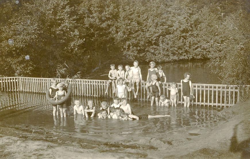 Wersebad an der Wolbecker Straße 1941