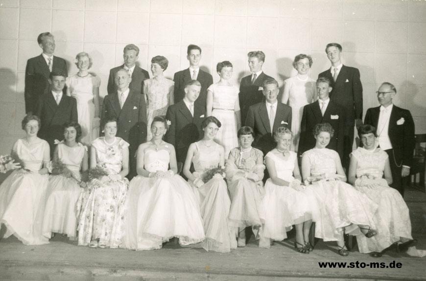 Schlussball 1955 im Lindenhof