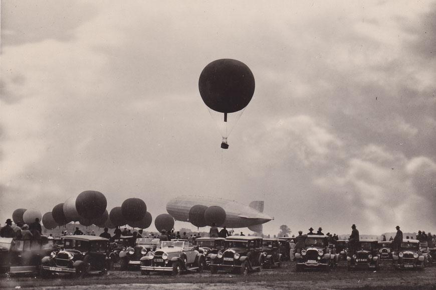 Großflugtag Loddenheide 1930