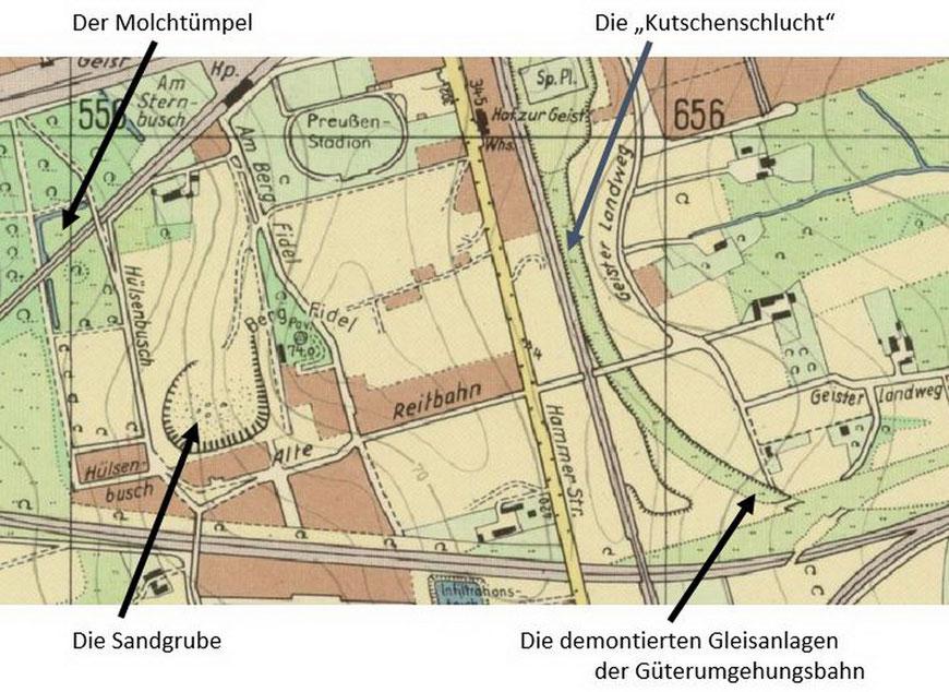Stadtplan 1963