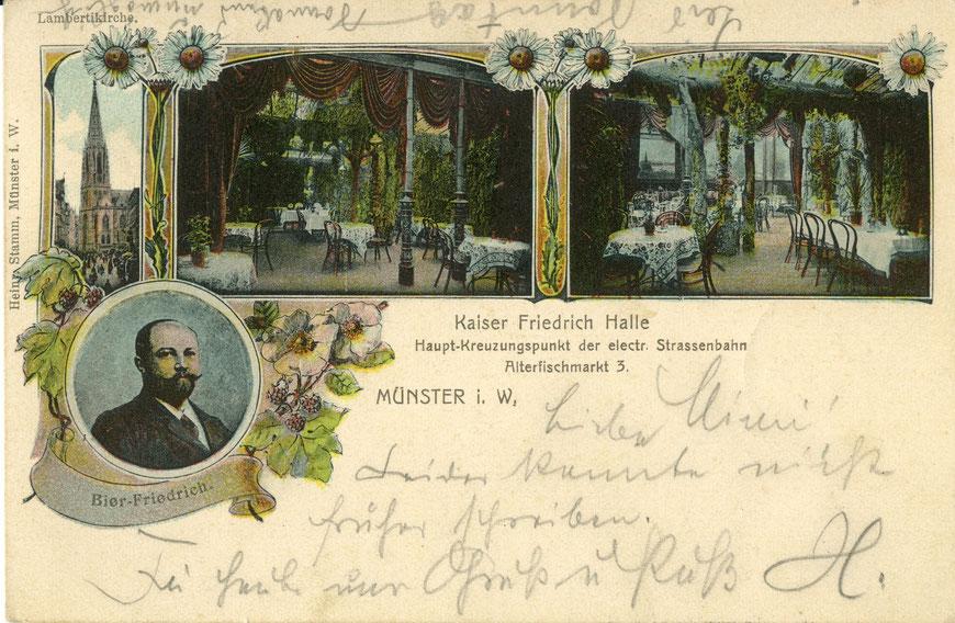 Kaiser Friedrich Halle am Alten Fischmarkt