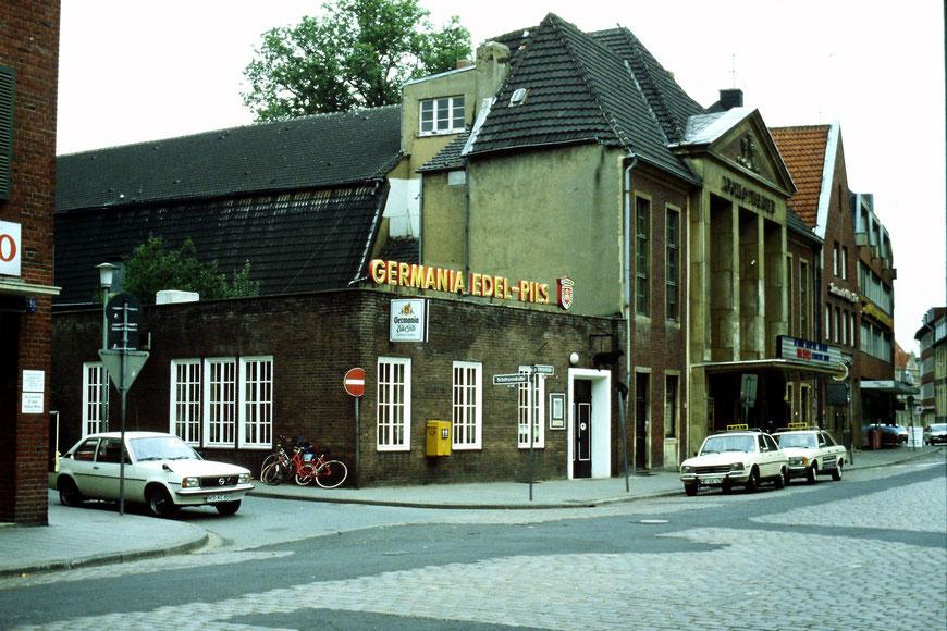 Schwarze Schaf Marienplatz