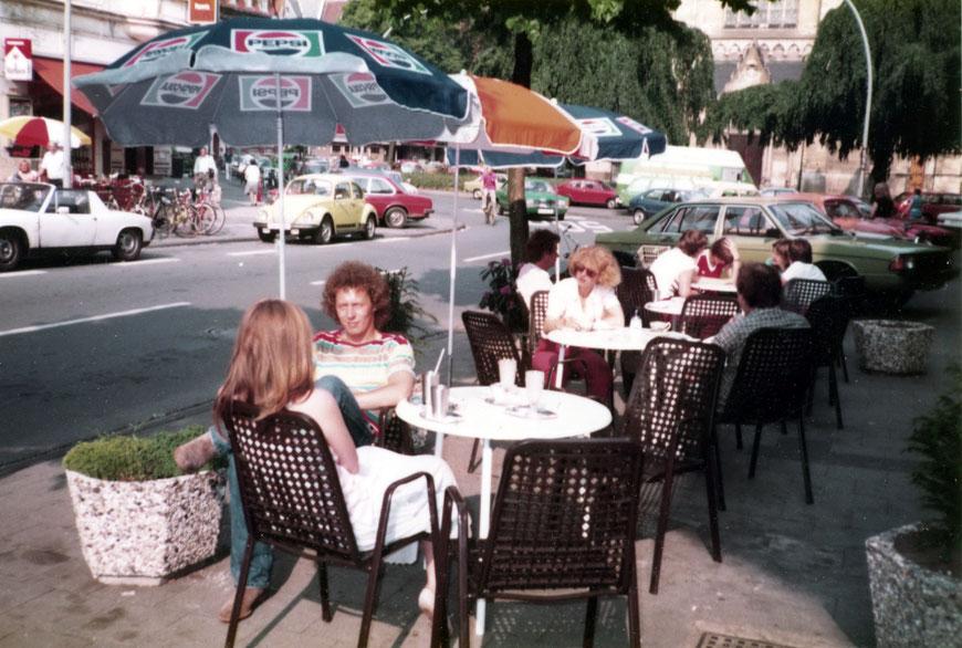 Das Eiscafé - 1980er Jahre