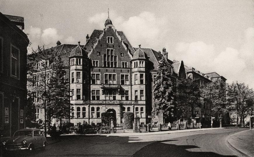 Hüfferstift um 1960 - Foto: Sammlung Stoffers (Münsterländische Bank Thie - Stadtarchiv)
