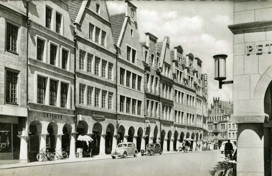 Haus Reichel Anfang der 1950er Jahre - Sammlung Stoffers (Münsterländische Bank - Stadtarchiv)