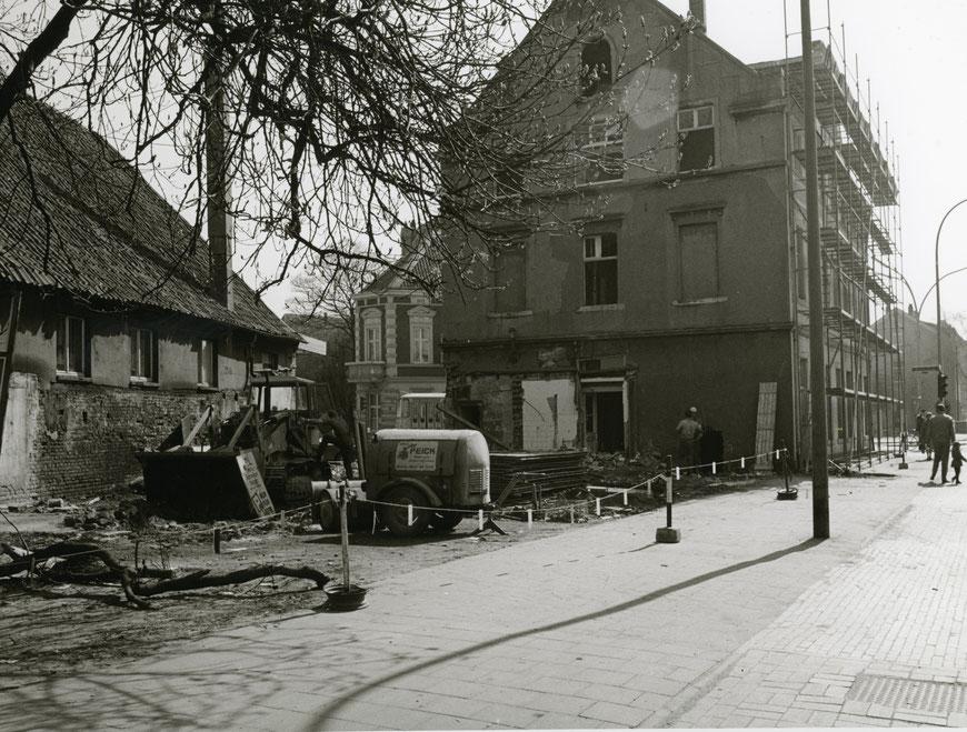 Steinfurter Straße - Stinfurter Straße - Fotograf Pölking - Sammlung Stoffers (Münsterländische Bank Thie- Stadtarchiv)