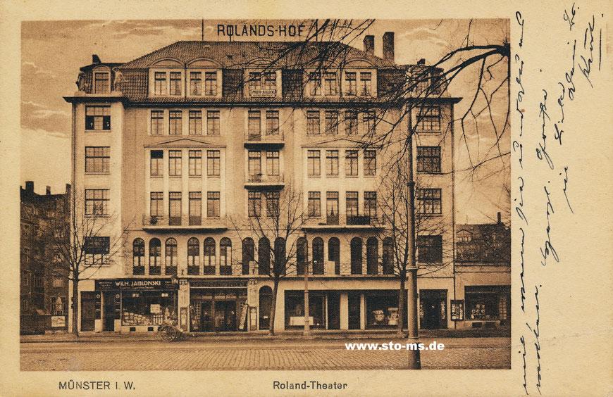 Das ,Roland-Theater' um 1920