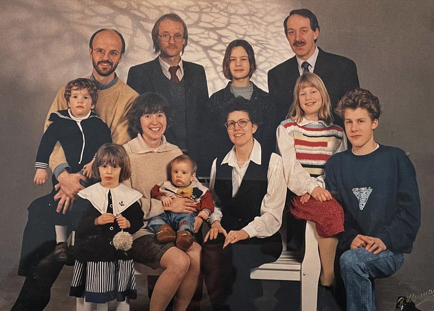 Die Familie 1994 - obere Reihe, zweiter von Links:Ulrich Lüke