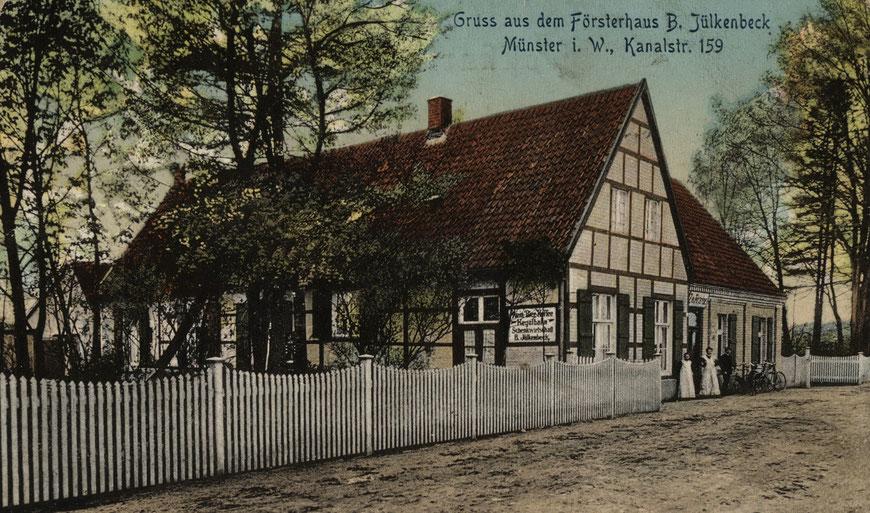 Gaststätte Försterhaus Jülkenbeck an der Kanalstraße 159