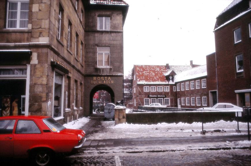 Aabrücke um 1975