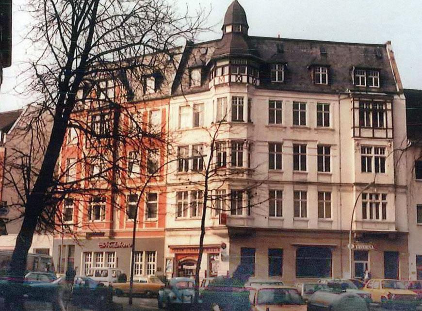 Hoyastraße 3-5 in den 1980er Jahren