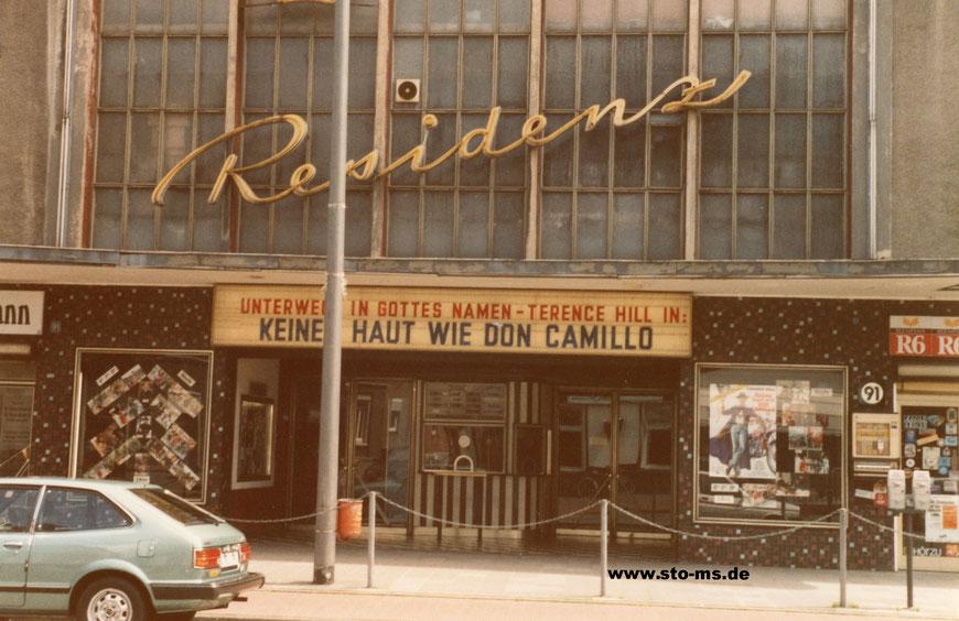 Residenz-Theater an der Hammer Straße 1984 - Foto Klaus Drühe