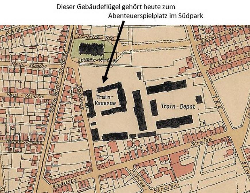 Stadtplan 1903