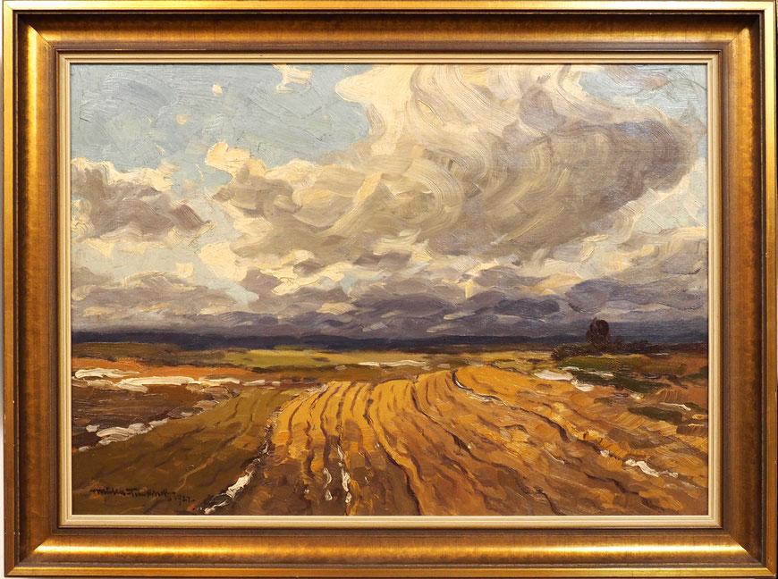 Ackerland im Vorfrühling - 1922