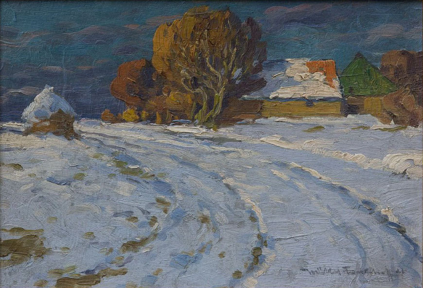 Winter in Wellbergen - 1921