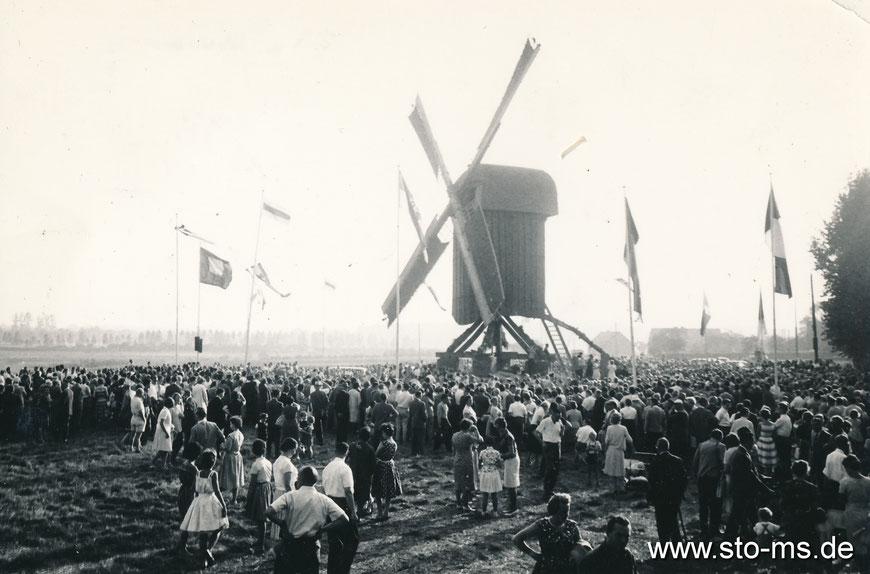 1961 war es soweit, feierlich wurde die Mühle eingeweiht.