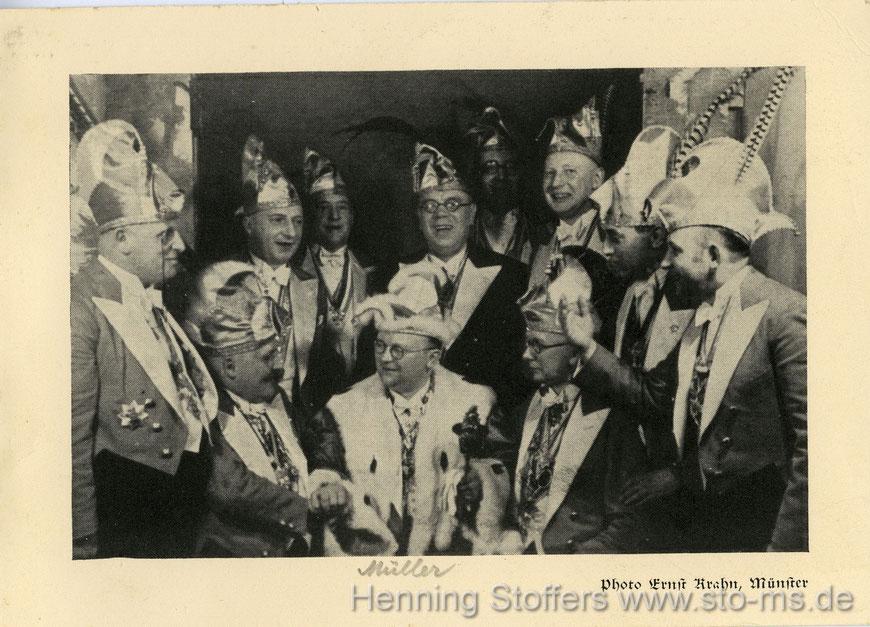 1930/1931und 1932 Pinkus Müller ist Karnevalsprinz