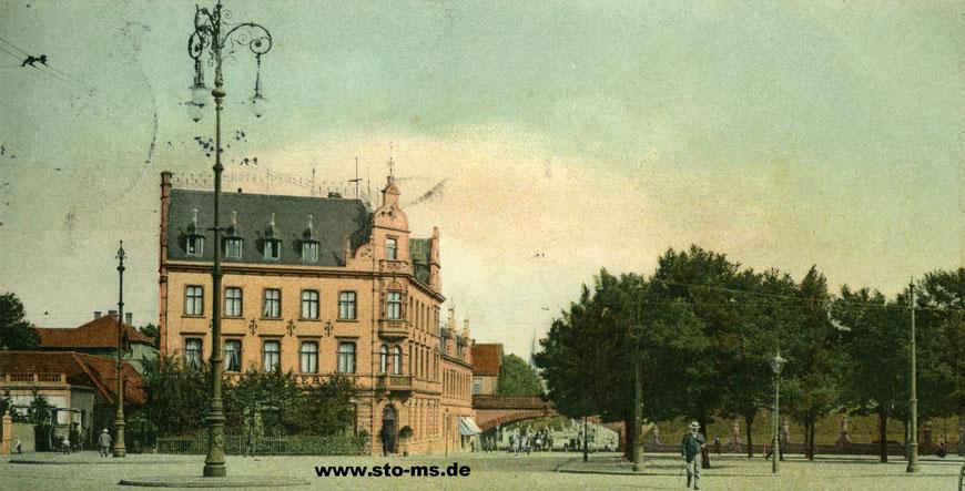 Das Hotel Westfälischer Hof um 1905, noch ohne Café Royal