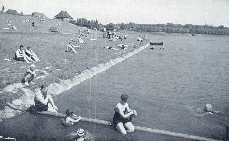 Stadtbad am Aasee (Torminbrücke) 30er Jahre
