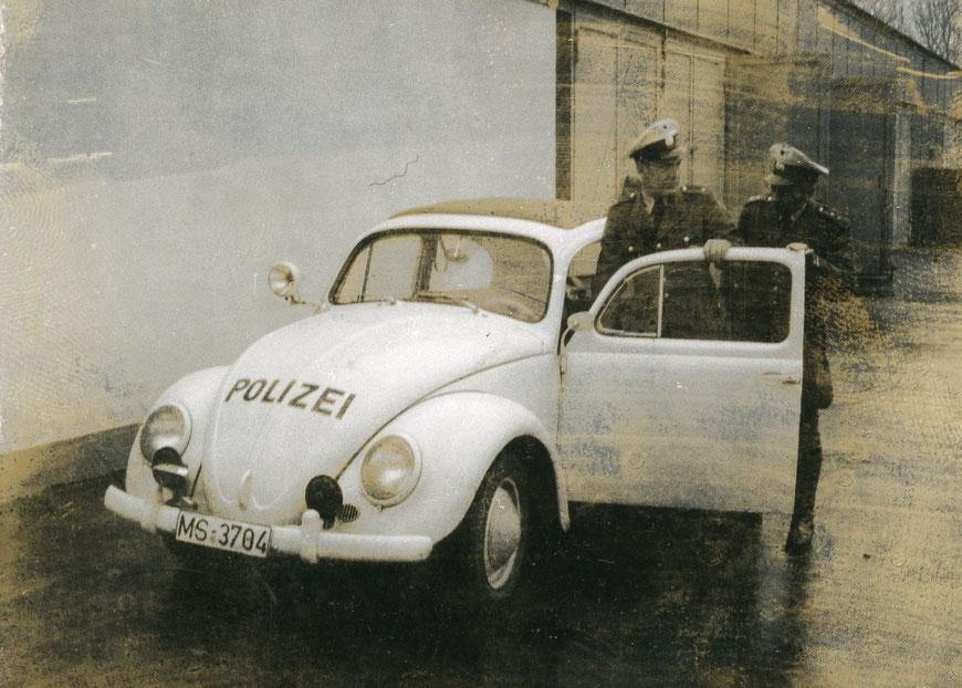 Streifenwagen 1960er Jahre