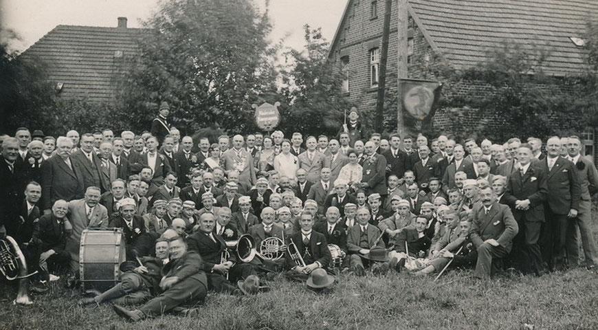 Münsterscher Männergesangsverein um 1930