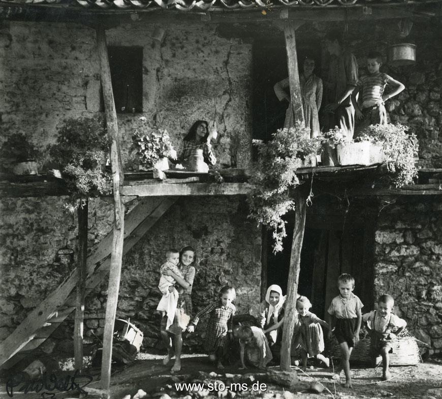 Das Haus in Linneria bei Olympia Griechenland 1956