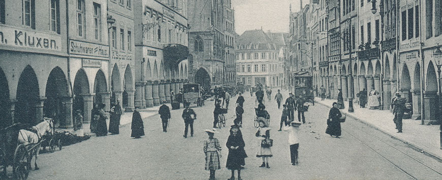 Prinzipalmarkt 1910er Jahre