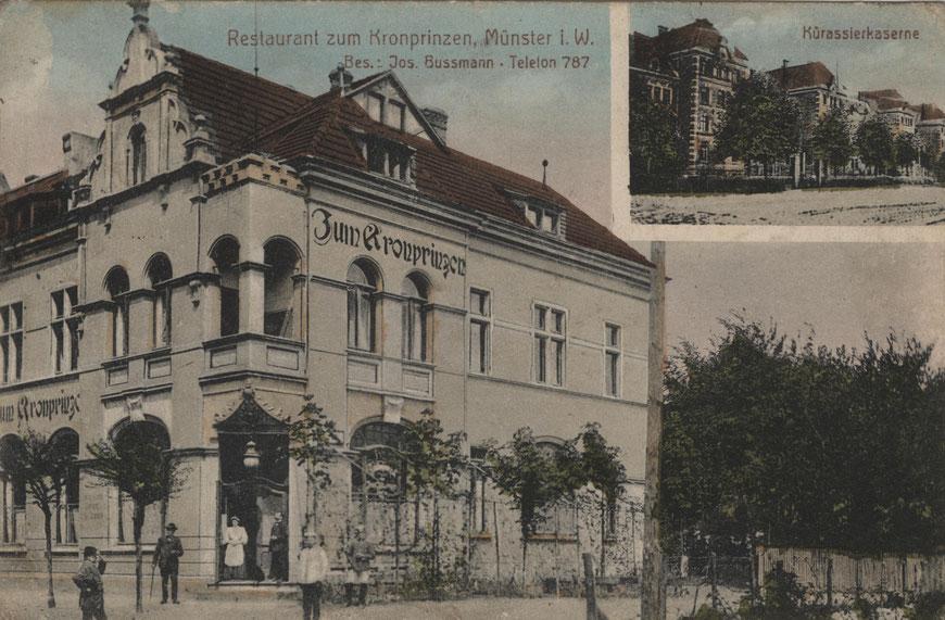 Gaststätte Bussmann - Sammlung Stoffers (Münsterländische Bank Thie - Stadtarchiv)
