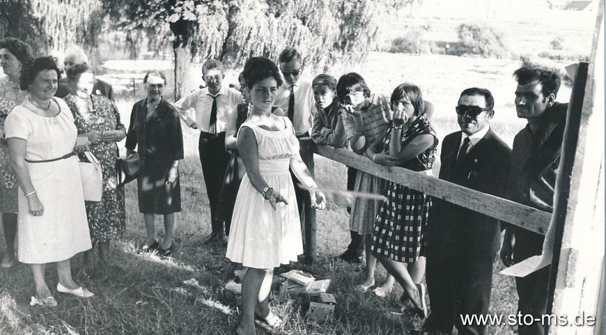 Betriebsfest der Fa. Peter Büscher am Aasee - 1970er Jahre