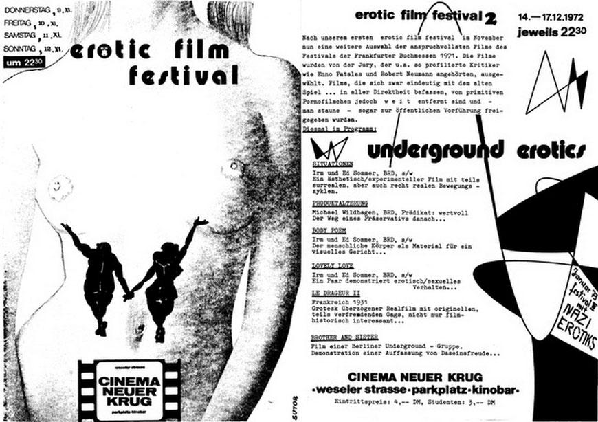 erotic film festival 1972