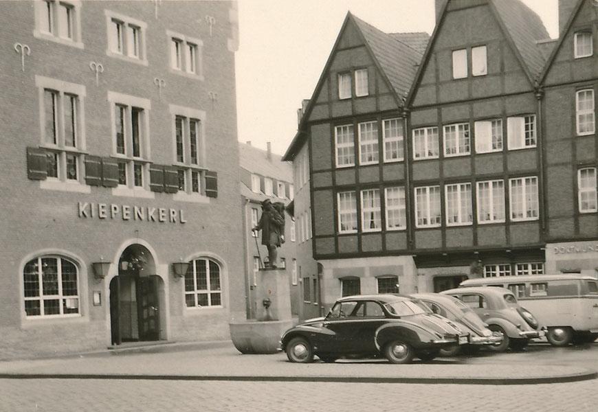 Am Kiepenkerl um 1960