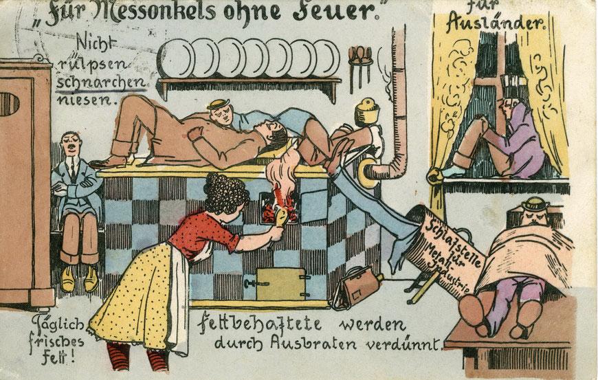 Spaßkarte - Über Geschmack lässt sich streiten...