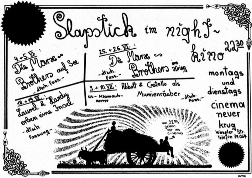 Slapstick 1973
