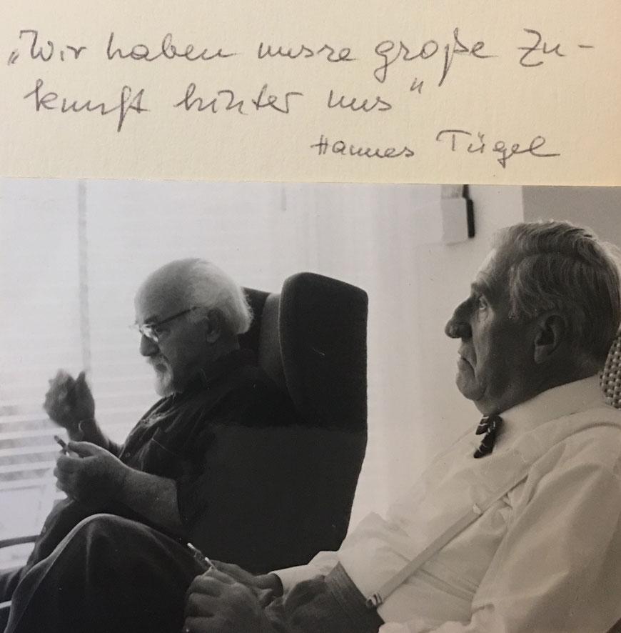 CW und Hannes Tügel
