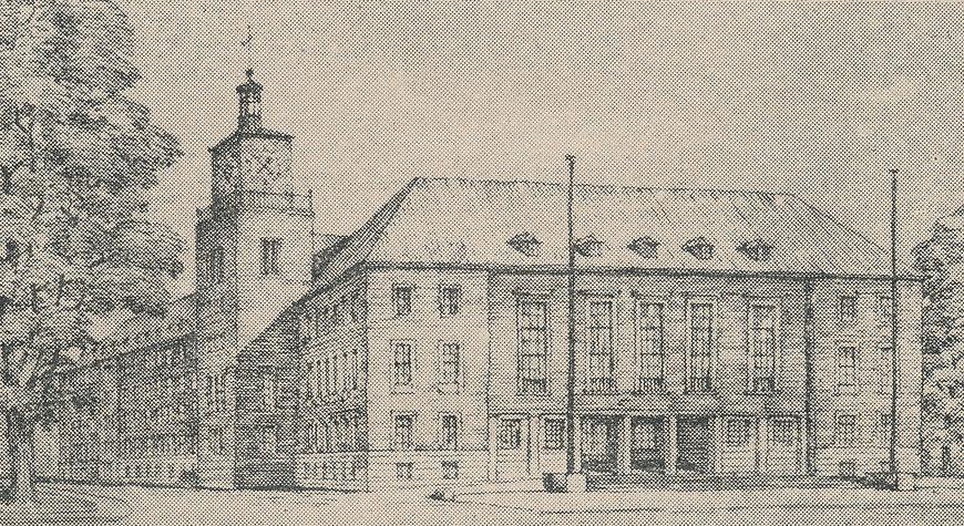 Planungszeichnung 1950