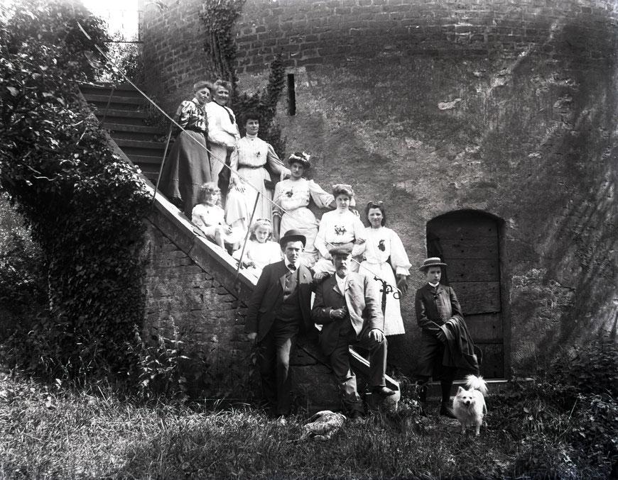 Wanderung zum Burgturm in Davensberg