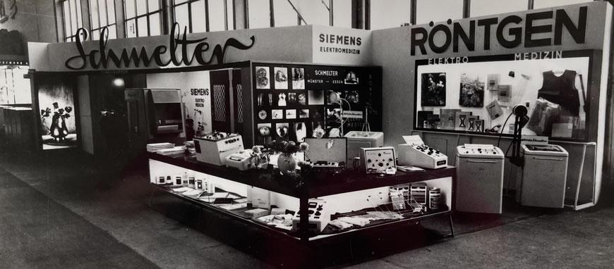 Erster Messestand Röntgen-Schmelter 1961