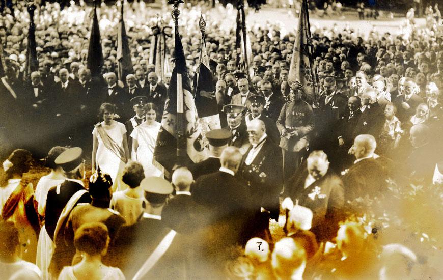 Münsterscher Männergesangverein um 1910