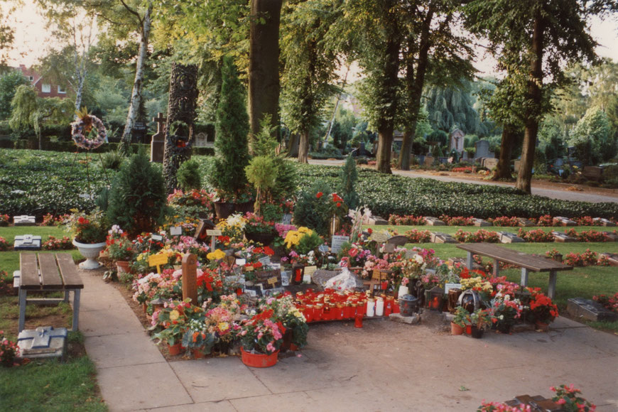Grabstätte der Clemensschwester M. Euthymia